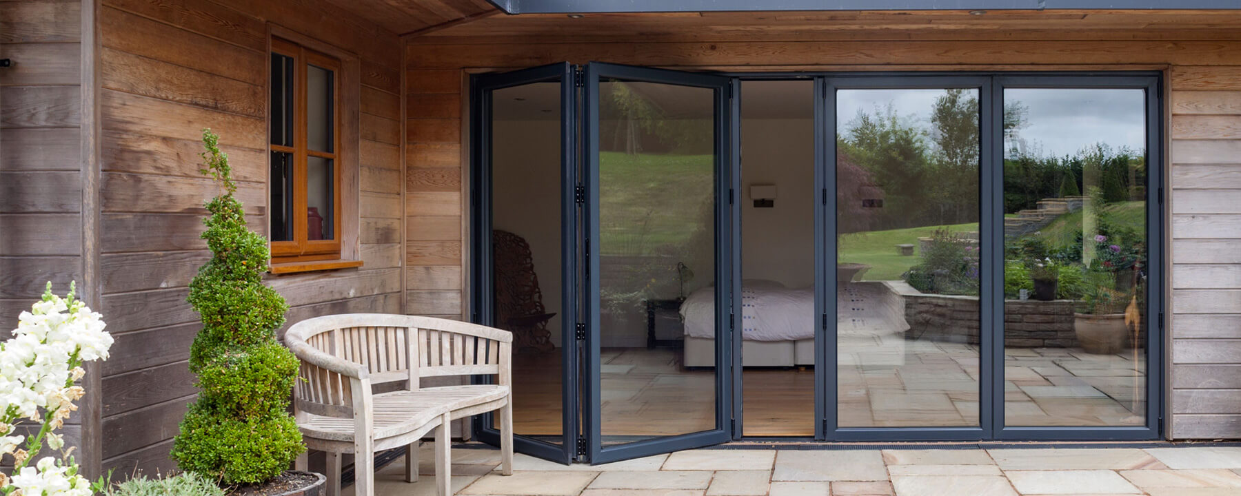 separation shoes 011b8 61c7b uPVC and Aluminium Bifold Doors in Leicester | Kettell Windows