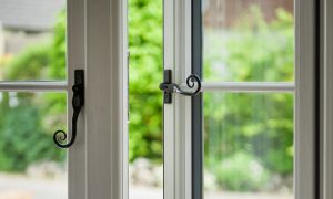 Residence collection window handles
