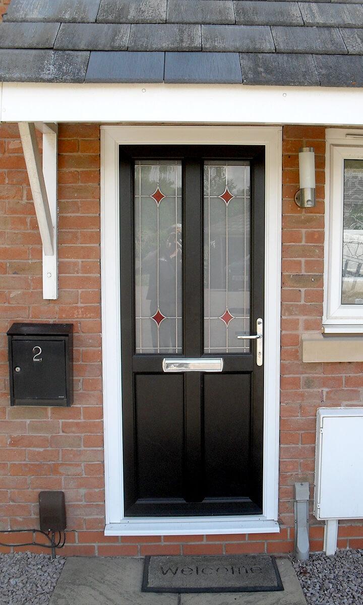 Stylish Composite Upvc Amp Wood Effect Front Doors