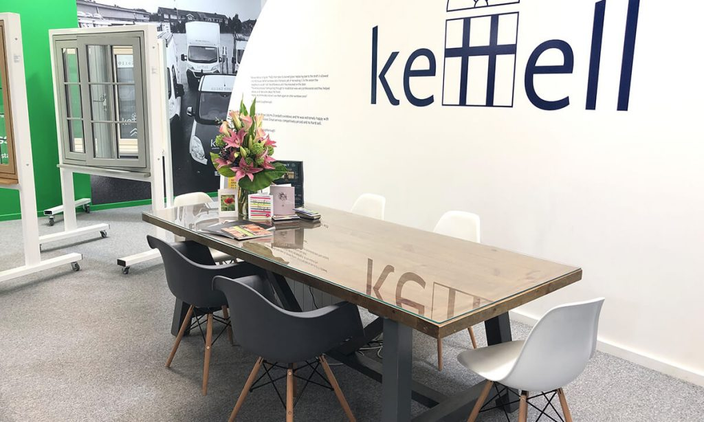 Kettell Showroom interior view
