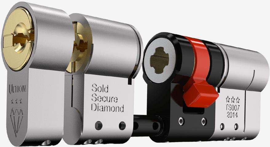 Ultion locking cylinder